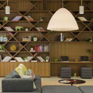 طراحی کتابخانه منزل