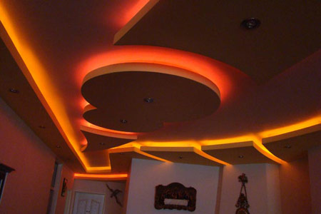 سقف کاذب کنافی