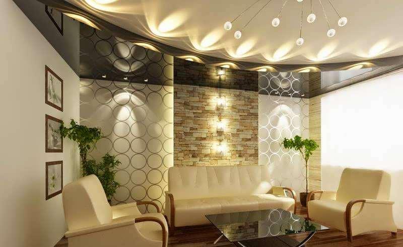 نورپردازی در آشپزخانه، حمام و هال ورودی