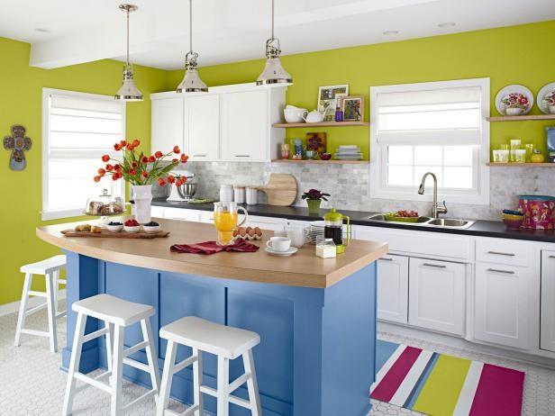تأثیر رنگ در آشپزخانه