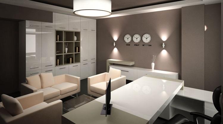 پنج راه حل برای طراحی اداری خانه