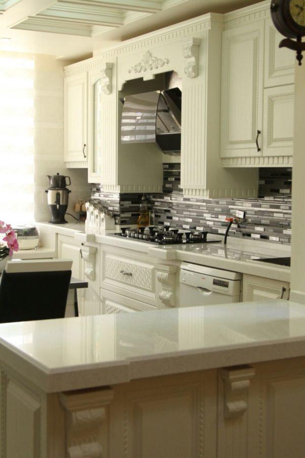 کابینت آشپزخانه طرح جدید،قیمت طراحی کابینت آشپزخانه،