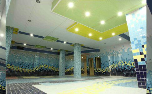 پروژه اجرایی سقف کاذب ،سقف کاذب گچی ، تایل پی وی سی 60*60