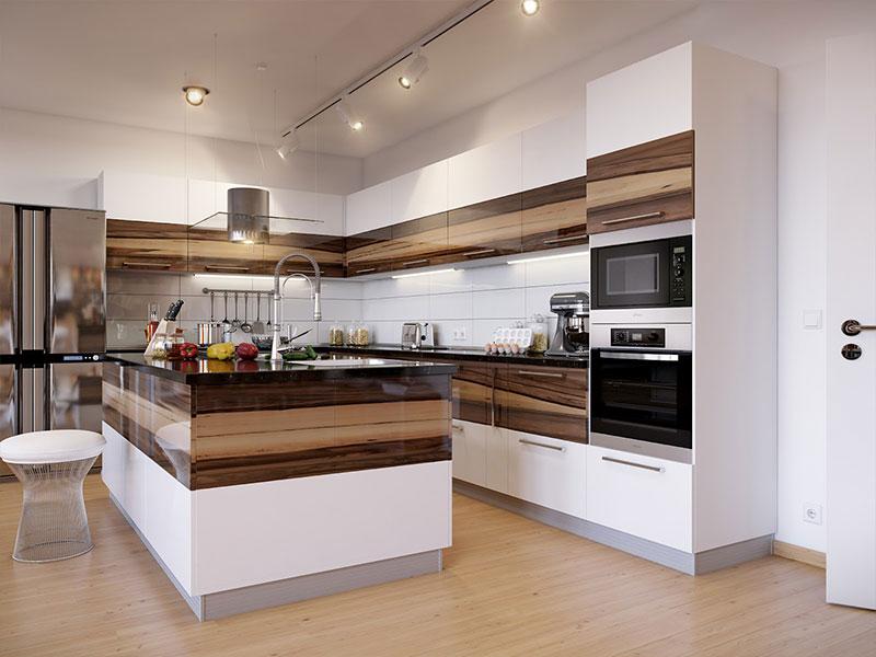 پروژه اجرایی کابینت آشپزخانه
