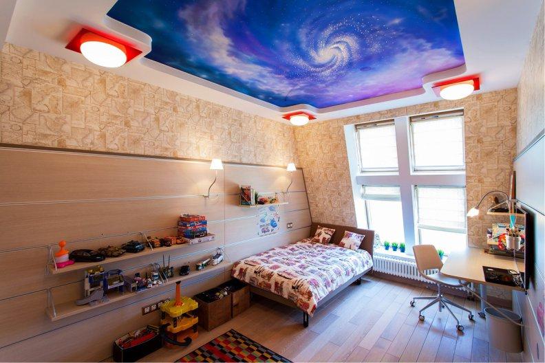 سقف کاذب اتاق کودک