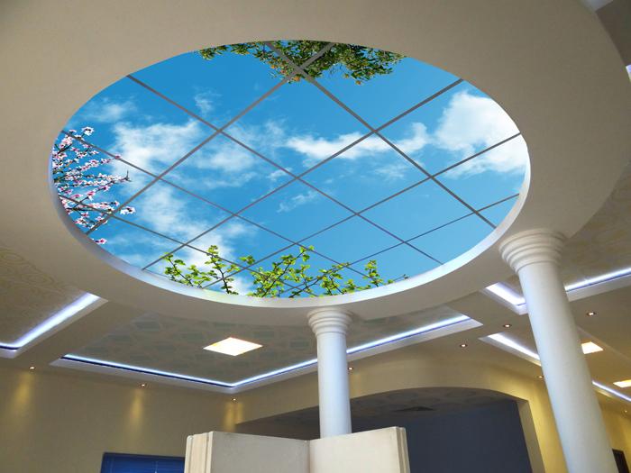 سقف کاذب آسمان مجازی