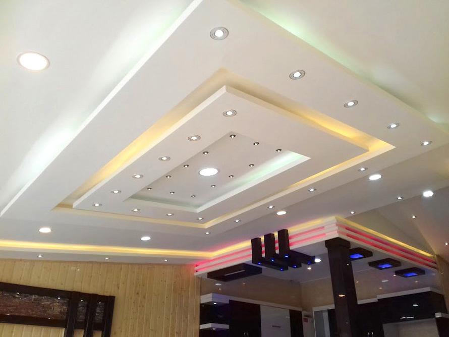 نورپردازی با سقف کاذب